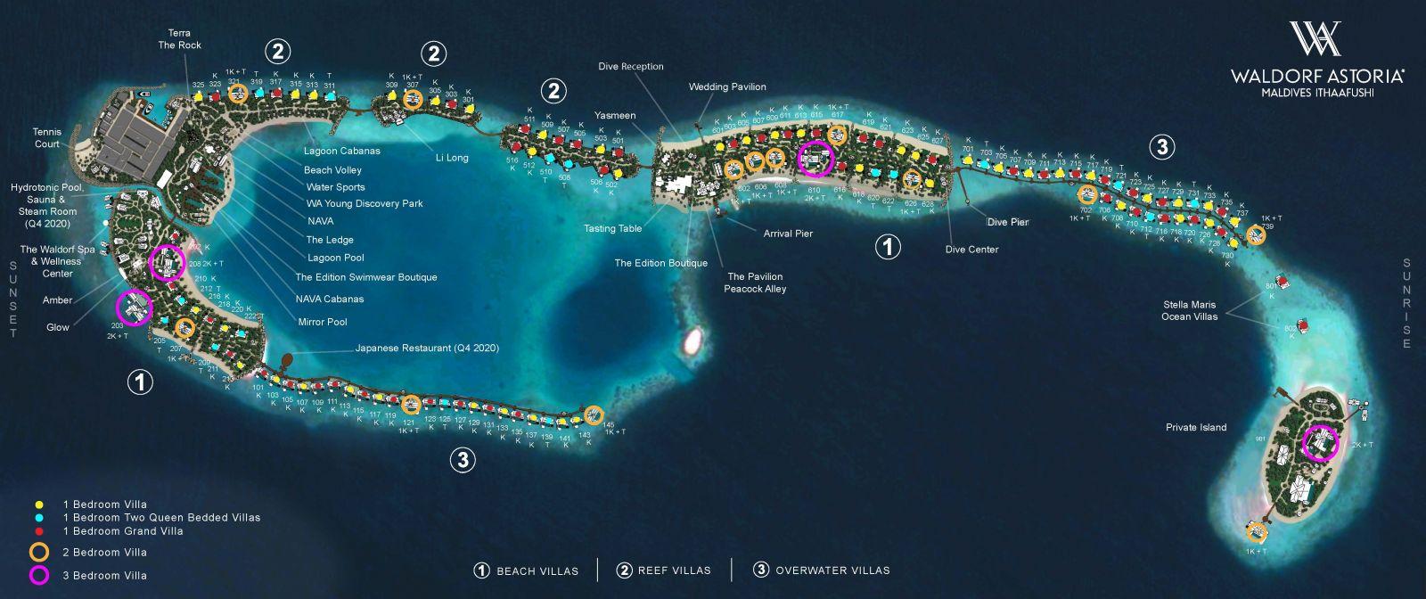 Agentstvo Puteshestvuj Waldorf Astoria Maldives Ithaafushi 5 Maldivy Male